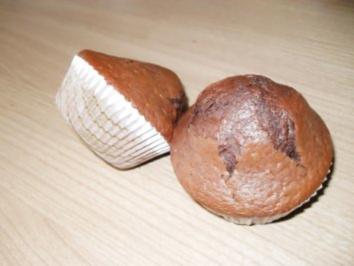 Rezept: Schoko-Rotwein-Muffin
