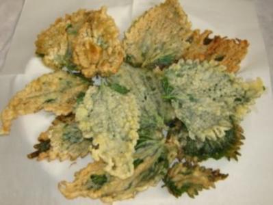Wildkräuter: Brennesseln in Bierpanade - Rezept