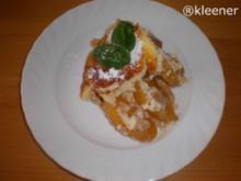 Überbackener Pfirsich - Rezept