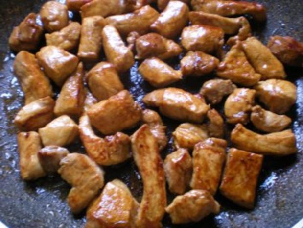 FLEISCH: Schweinefleisch süß-sauer - Rezept - Bild Nr. 5