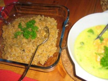 Linsen- Reis - Rezept