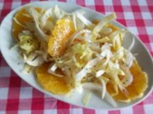 Chicoree-Orangen-Salat - Rezept