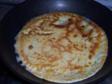 Käse - Pfannkuchen - Rezept