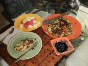 Gemuesse Amerikanisches Schnell Gericht.- Gemuesse Pfanne - ein Familien Essen - Rezept