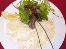 Carpaccio vom Edelfisch - Rezept