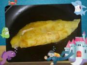 Fischfilet mit Kartoffel-Schuppen - Rezept