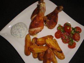 Country Cuts with Chicken Legs - Rezept