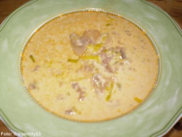 Käsesuppe - Rezept - Bild Nr. 2