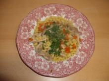 Hühnchen-Gemüse-Nudeltopf - Rezept