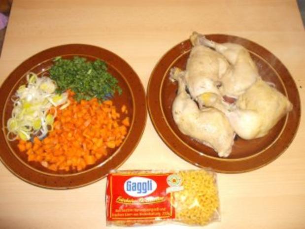Hühnchen-Gemüse-Nudeltopf - Rezept - Bild Nr. 3