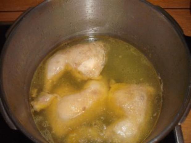 Hühnchen-Gemüse-Nudeltopf - Rezept - Bild Nr. 4