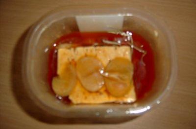 Käse: Feta in Chilli-Knoblauchöl eingelegt - Rezept