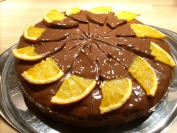 Schoko-Orangen-Torte - Rezept - Bild Nr. 2