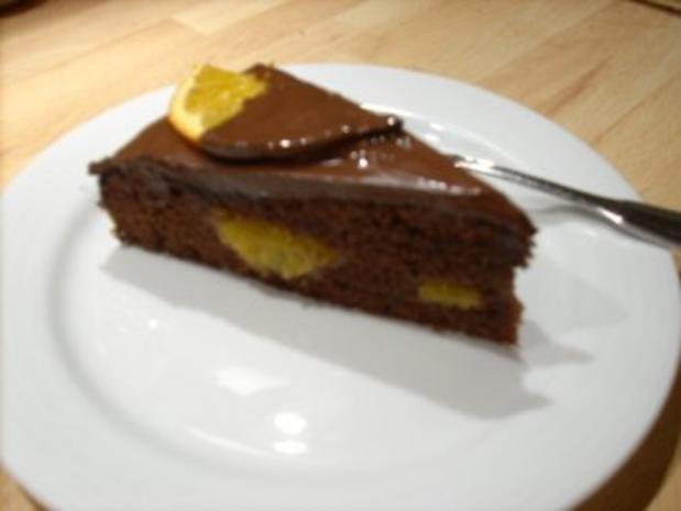 Schoko-Orangen-Torte - Rezept - Bild Nr. 3