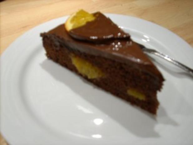 Schoko-Orangen-Torte - Rezept - Bild Nr. 4