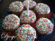 Geburtstagsmuffins - Rezept