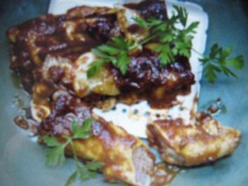 Cannelloni ripieni - Rezept