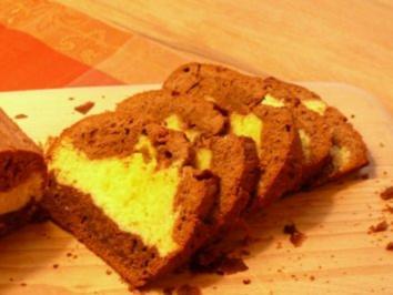 Dreifarbiger Schokoladenkuchen - Rezept