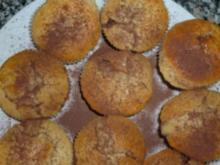 Eierlikör- Joghurt- Muffins mit leicht flüssigem Schokokern - Rezept