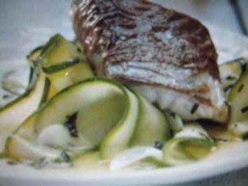 Seelachs im Parmaschinken-Mantel - Rezept