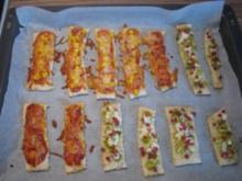 """SNACK"" Pizza-Streifen - Rezept"