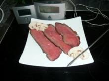 FLEISCH Roastbeef,bei Niedrigtemperatur gegart - Rezept