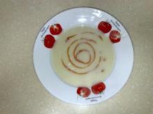 Blumenkohlsuppe - Rezept
