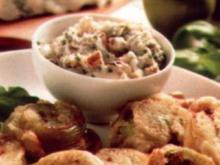 antipasti pomodori verdi fritti - Rezept