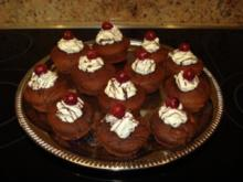 Schwarzwälder-Kirsch-Muffins - Rezept