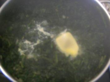 Blattspinat - Rezept
