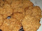 Joghurt-Haferflocken-Kekse fettfrei - Rezept