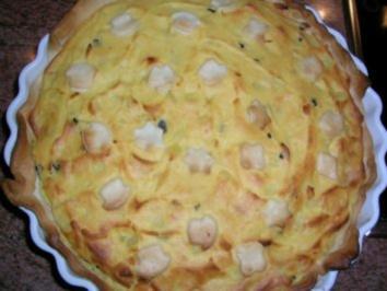 Kartoffeltarte - siehe hierzu auch meine Rezepte  Kalbsfilet und gefüllte Hähnchenbrust - - Rezept