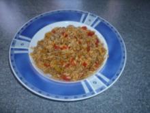 Hackfleischtopf mit Reis - Rezept