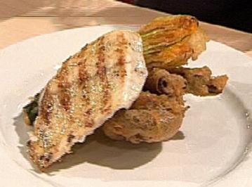 Steinbutt mit Tempura-Gemüse - Rezept