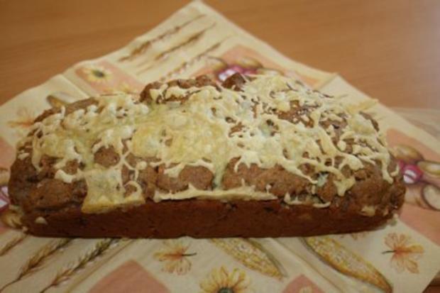 Vollkornbrot mit Käse - Rezept