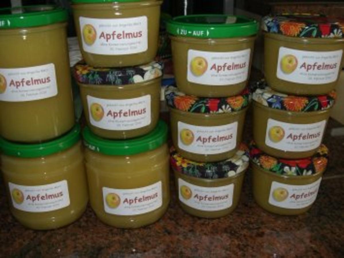Dessert: APFELMUS oder APFELKOMPOTT - Rezept Eingereicht von Rezeptsammlerin
