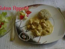 Putencurry mit indischen Touch - Rezept