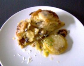 Kartoffel-Steinpilz-Gratin - Rezept