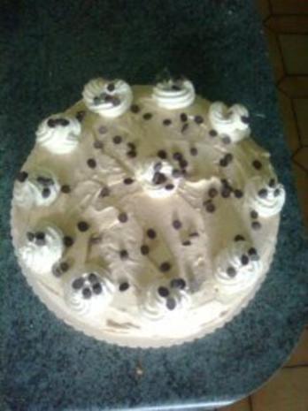 Mokkasahne Torte - Rezept
