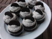 Muffins mit Oreo-Keksen - Rezept