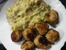 Kartoffelpüree mit Mini Romana - Rezept