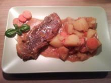 Beiried mit Kartoffeln - Rezept