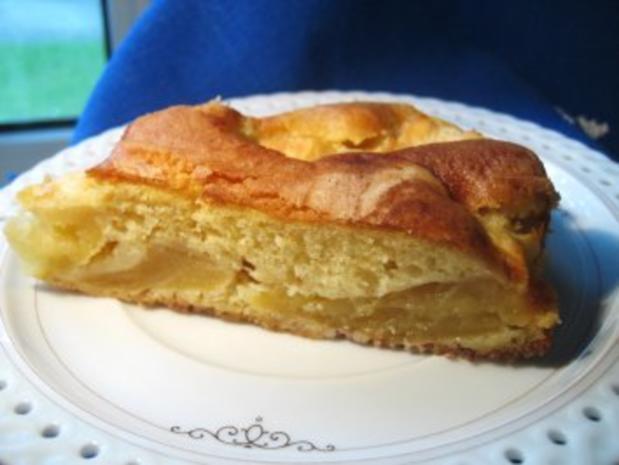 Blitzkuchen mit Äpfeln... - Rezept - Bild Nr. 2