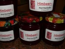 M+G:  HIMBEER-MARMELADE ..... - Rezept