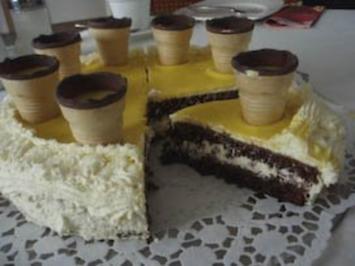 Torte: Eierlikör-Torte - Rezept