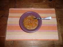 Sopa de Mani -- bolivianische Erdnusssuppe -- - Rezept