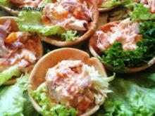 Croustades mit Geflügelsalat - Rezept