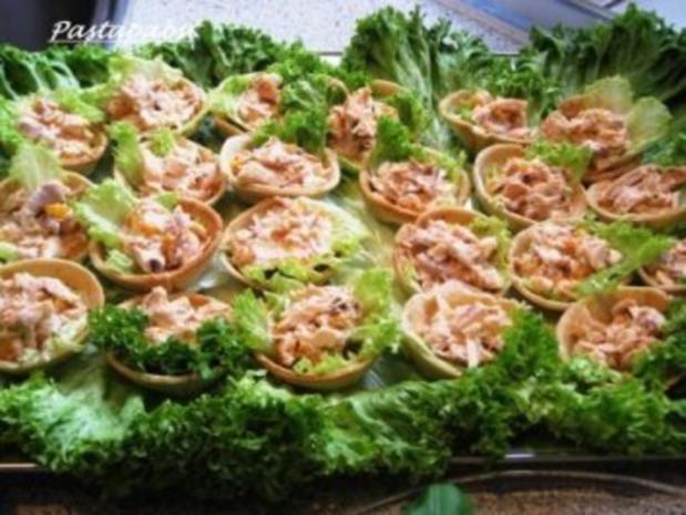Croustades mit Geflügelsalat - Rezept - Bild Nr. 2