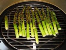 Geröstete grüne Spargeln - Rezept
