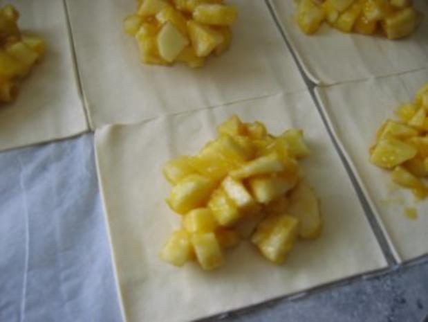 Süße Blätterteigtaschen - Rezept - Bild Nr. 6